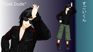 [MMD OC] Cool Dude/Sugoi-kun [Prize Model] by kokorohane