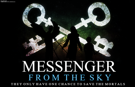 Messenger From The Sky - Poster Graphic by A-C-Douglas