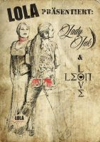 Poster - Lady Ink and Leon Love by poisonmilow