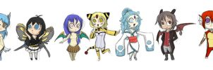 C.S Chibis by 5-D