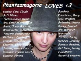 List of Loves by phantaz