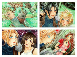 Final Fantasy VII KAKAO I by Tiara-C