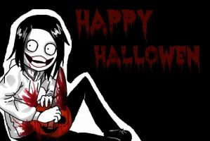 Happy Hallowen by Riw-BloodyUsagii