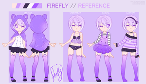 Firefly Reference sheet by Lunathyst