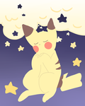 pika doodle by ElectricBlueNights