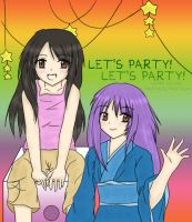 Collab - Let's Party by Misao-Flower