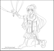 Bound - Lineart by TheULTImateAngel