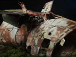 space Wreck Paper Model-3 RA by ARMORMAN