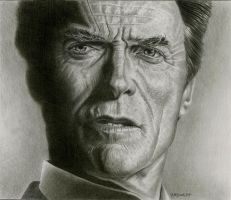 Clint Eastwood by mcgrath800
