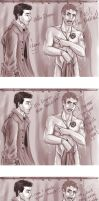 Dean and Cas moments by pandatails