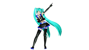 MMD DT So Much Loving You Miku DL by willianbrasil