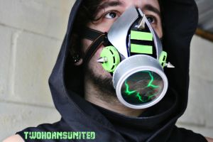 Toxic City cyber plasma gas mask by TwoHornsUnited
