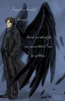 Sherlock -I am no angel by Lilak-rain