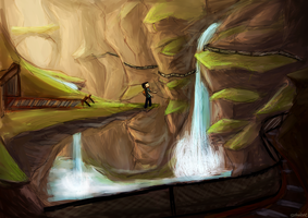 Mineshaft Ravine by Sophalone
