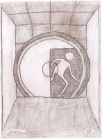Portal 2 door by Theory-Of-Existence