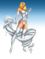 Emma Frost Normal Form by krissthebliss