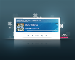 MP4 player fake skin by devzign