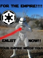 Imperial Recruitment Poster by YumaLightning