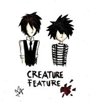 Creature Feature -Simple style by LookAliveZombie