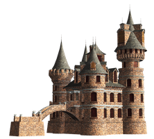 Castle 23 PNG Stock by Jumpfer-Stock