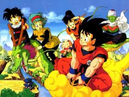Dragon Ball Z GT by cyazian