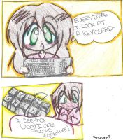 Keyboards can express love lol by Yuiko0Chan