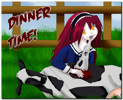 .: Dinner Time :. by Damaged927