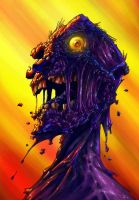 DAWN OF THE DEAD by QuinteroART