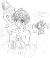 Naruto showering....:D by evilmuffin
