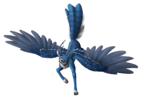 Blue Jay Peryton by Brookreed