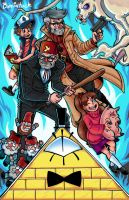 Gravity Falls! by Bevintock