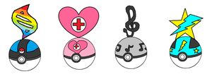TLoKP Character Emblems by PokemonDoctor100