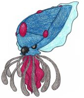tentacruel evolution - adopted by FrozenFeather