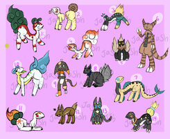 Mixed Creature Adopts OPEN /CANGED PRICE// by JashJash