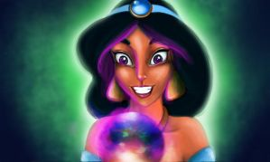 Jasmine and the magic ball by ichuly