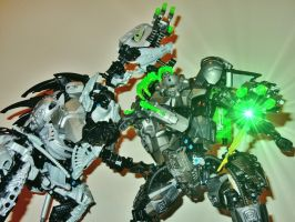 Pitting Titans Against Monsters by CYBERDYNE101