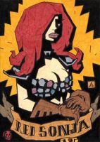 Red Sonja 1 by soliton