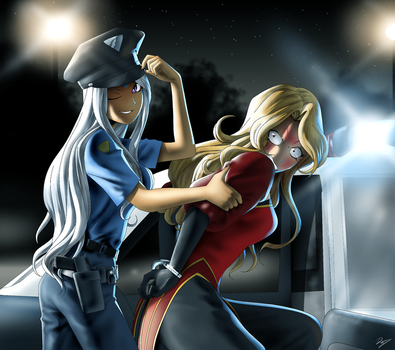 Goddess police by EastCoastCanuck