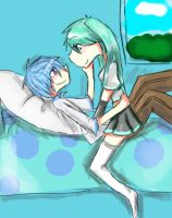 Kaito_Miku : Love me 4ever by Avril170