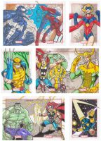 Marvel 75th Cards Preview by nerp