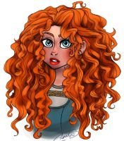Brave - Princess Merida by sunflowermints