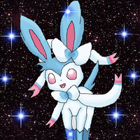 Moonstone the Sylveon by BlueLeafeon