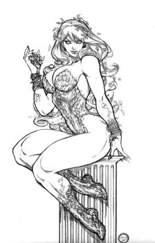Poison Ivy- commission by AdrianaMelo