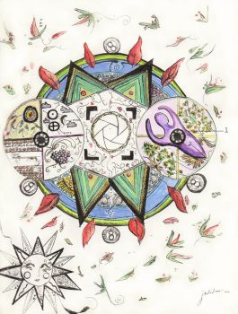 My Mandala by janberlina