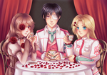 Rose Tea Party by hello-mango