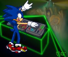 Sonic the DJ by Miiukka