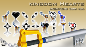 KH POINTERS sora ver. by PassionisArt