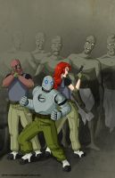 Atomic Robo contest by mhunt