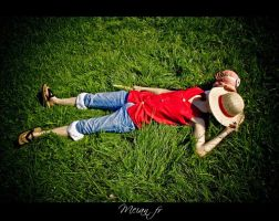 Good nap Luffy by Lye1