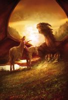 Prince dragon, second book by MarcSimonetti